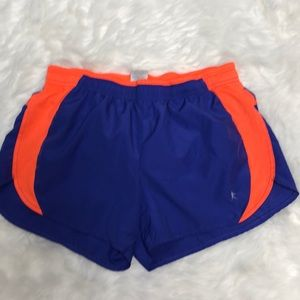 🌵Purple orange running shorts with liner
